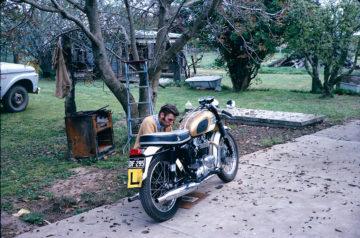 john smith and his bike 1966