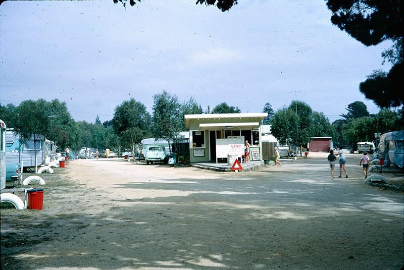 Barwon caravan park in Geelong 1966