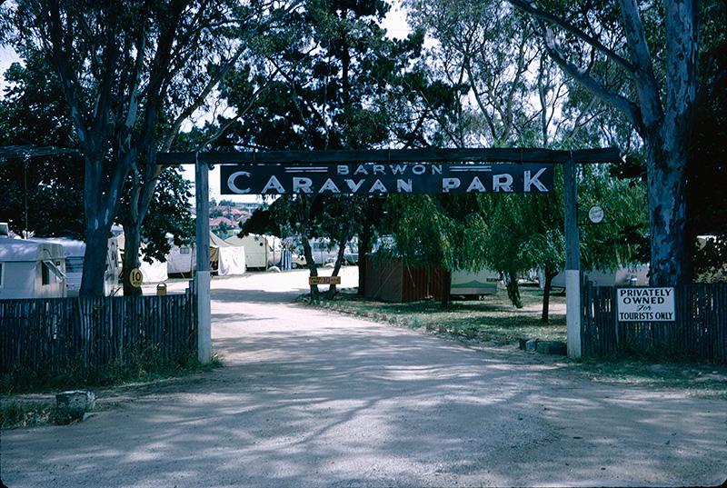 Barwon caravan park in Geelong