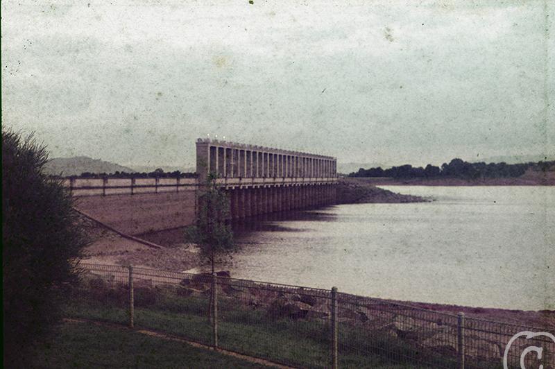 the bridge before
