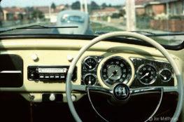 Dashboard of Volkswagen Beetle