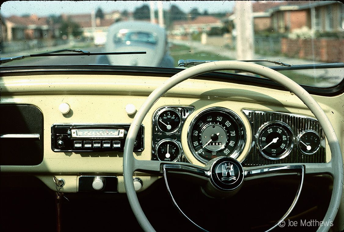 Dashboard of Volkswagen Beetle