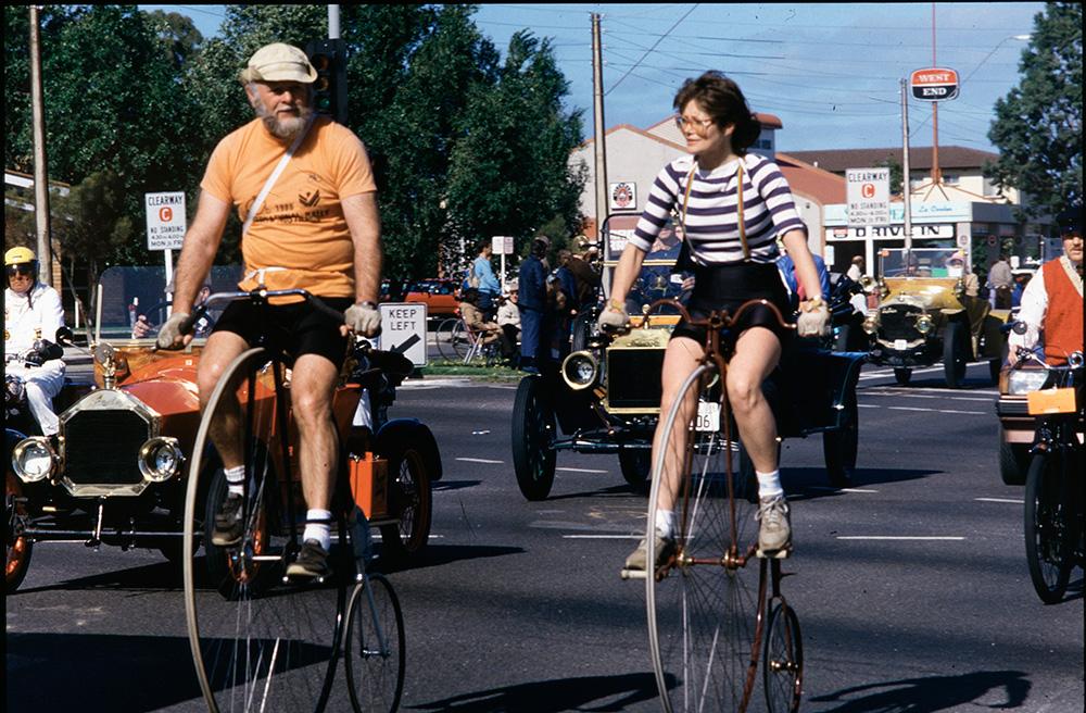 penny farthing bikes